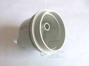 Corpo filtro suctor - unidade de água