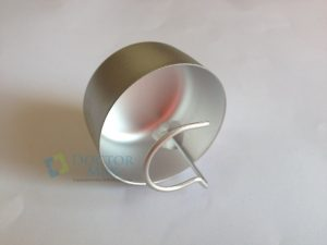 Defletor metálico do refletor Gnatus