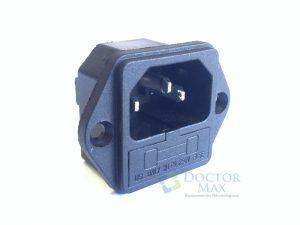 Conector pino IEC C-14 Seladora Gnatus