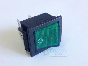 Interruptor bipolar iluminação verde - Seladora