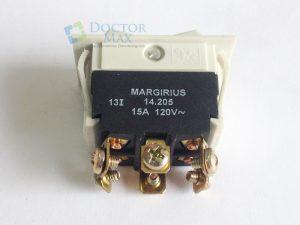 Interruptor Margirius assento cadeira Gnatus