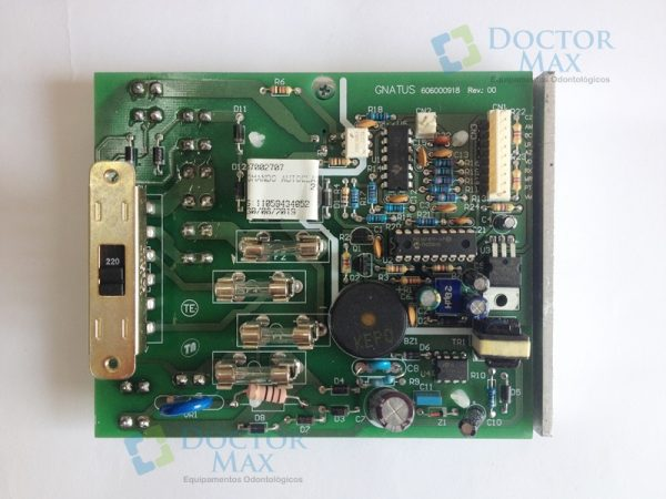 Placa comando autoclave Gnatus 21L inox